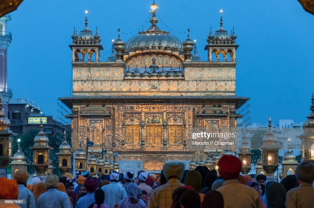 The Golden Temple, Amritsar, India : Stock Photo