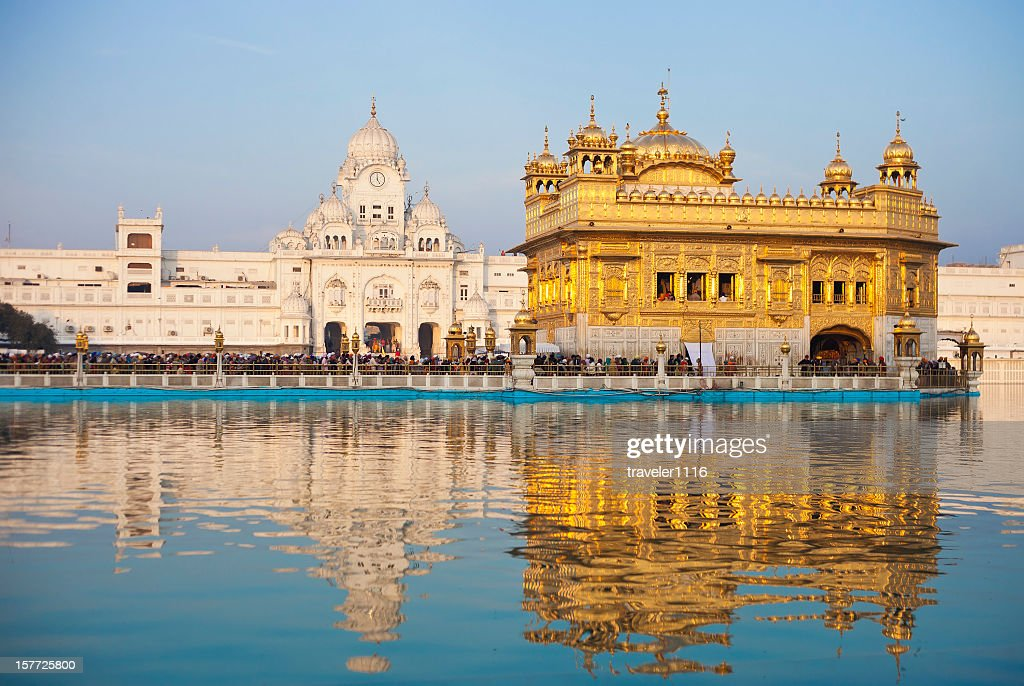 The Golden Temple In Amritsar, India : Stock Photo