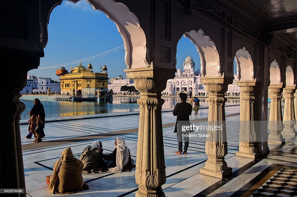 The Golden Temple is the most important place of Sikhism The official name of the temple is Harmandir Sahib
