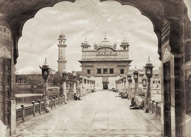 The Golden Temple or Harmandir Sahib Amritsar India circa 1880