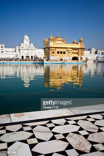 the golden temple - amritsar stock pictures, royalty-free photos & images