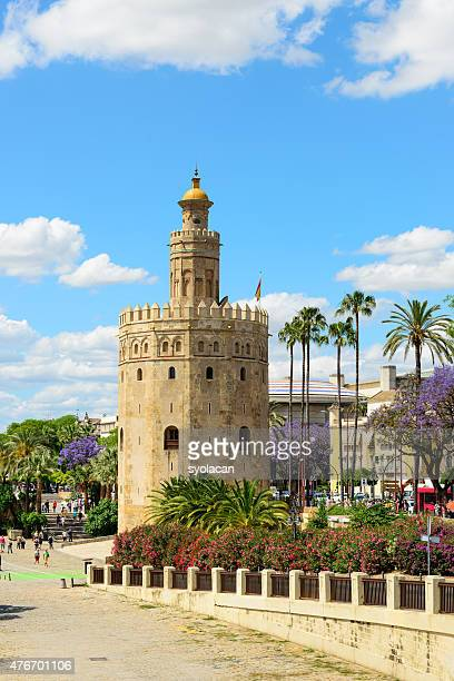 The Golden Tower of Seville