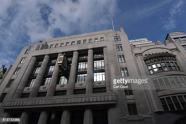 The Goldman Sachs investment offices in Peterborough Court are pictured on October 10 2016 in London England A number of global investment giants...