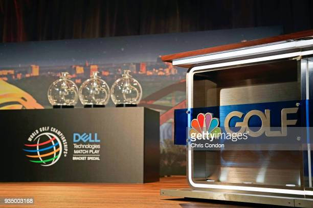 The Golf Channel Bracket Special prior to the World Golf ChampionshipsDell Technologies Match Play at Austin Country Club on March 19 2018 in Austin...