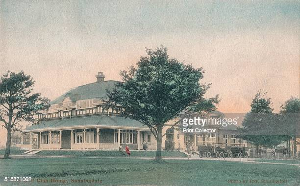 The Golf Club House Sunningdale' circa 1910 Sunningdale Golf Club Sunningdale Berkshire Sunningdale Golf Club founded in 1900 has two eighteenhole...
