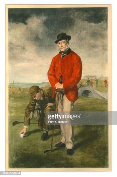 The Golfer' 19th century Artist Unknown