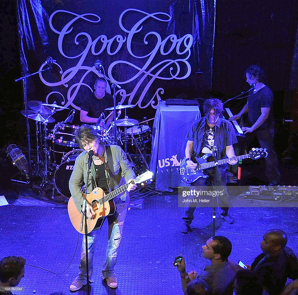 The Goo Goo Dolls Perform For SIRIUS XM Listeners At The Troubadour