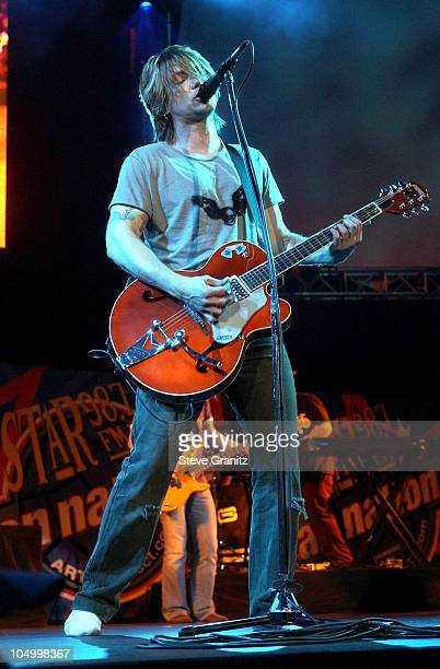 The Goo Goo Dolls during Star 987's Fan Nation 2 Concert at Verizon Amphitheater in Irvine California United States