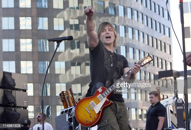 The Goo Goo Dolls perform at the Superdome reopening before the kickoff between the Atlanta Falcons and the New Orleans Saints Monday September 25 at...