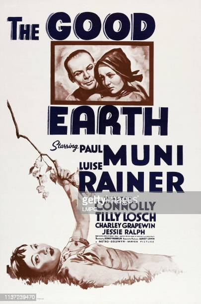 The Good Earth poster US poster top from left Paul Muni Luise Rainer 1937