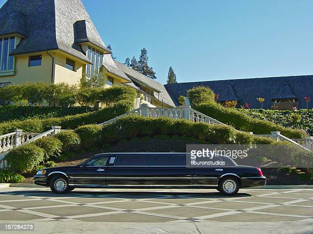 The Good Life: Limousine & Mansion