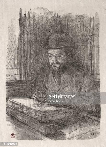The Good Lithographer 1898 Henri de ToulouseLautrec Lithograph