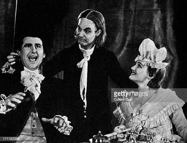 'The Good Natured Man' by Oliver Goldsmith with Constance Cummings Stewart Granger and Robert Donat at the Old Vic London November 1939 Produced by...
