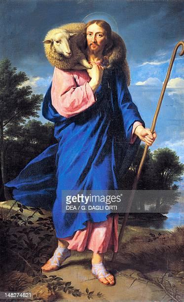 The Good Shepherd by Philippe de Champaigne oil on canvas Tours Musée Des BeauxArts