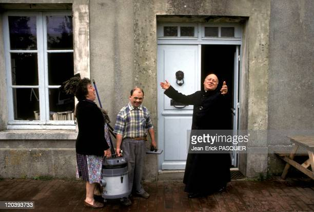 The Good The Beadle And The Priest In France In 1987 A Country Priest Father Quintin Montgomery Wright Scottish originParish priest of Chamblac in...