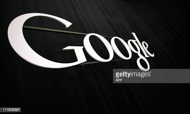 The Google logo at the Google headquarters in Mountain View California on April 7 2011 AFP PHOTO/Kimihiro Hoshino