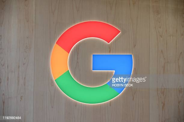 The Google logo is seen January 8 2020 at the 2020 Consumer Electronics Show in Las Vegas Nevada