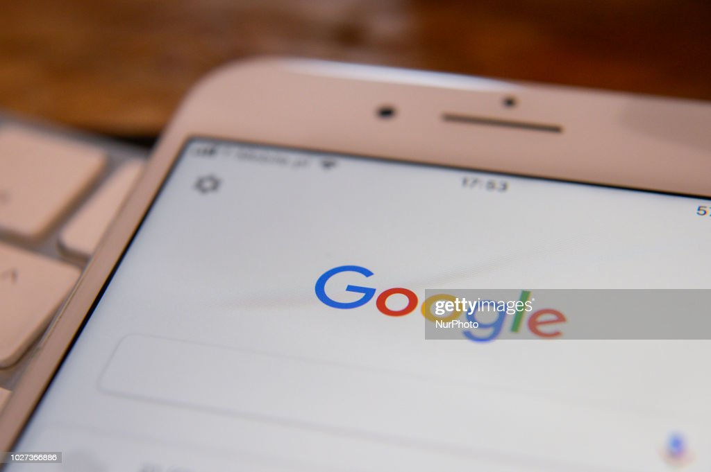 Trump Accuses Google of rigging search results : News Photo