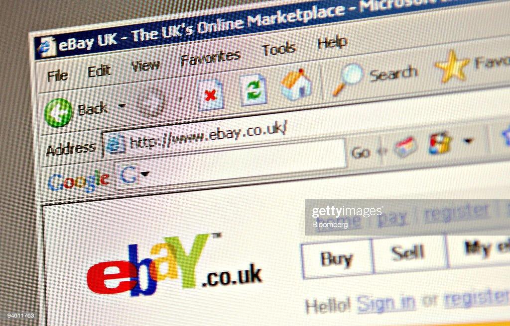 Ebay Uk Toolbar