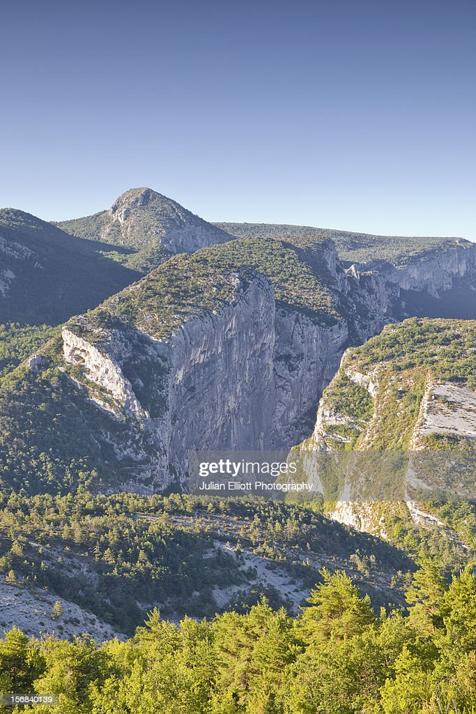 The gorges du Verdon in Provence. : Stock Photo