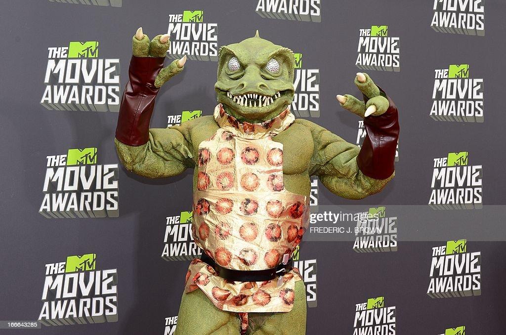 US-ENTERTAINMENT-AWARDS-MTV-MOVIE : News Photo