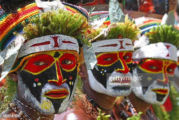 CONTENT] The Goroka show is one of the two most important tribal shows in PNG More than 70 different tribes gather for this amazing event