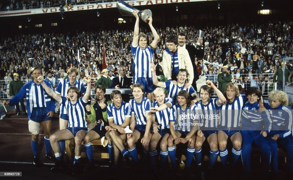 Gothenburg And UEFA Cup : News Photo