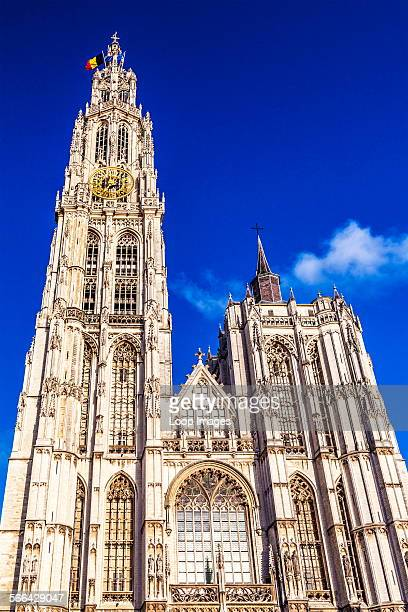 The Gothic Cathedral of Our Lady in Antwerp