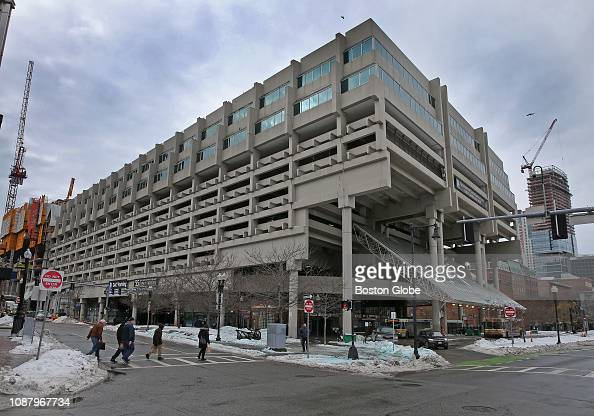 The Government Center Garage In Boston Is Pictured On Jan 23 2019