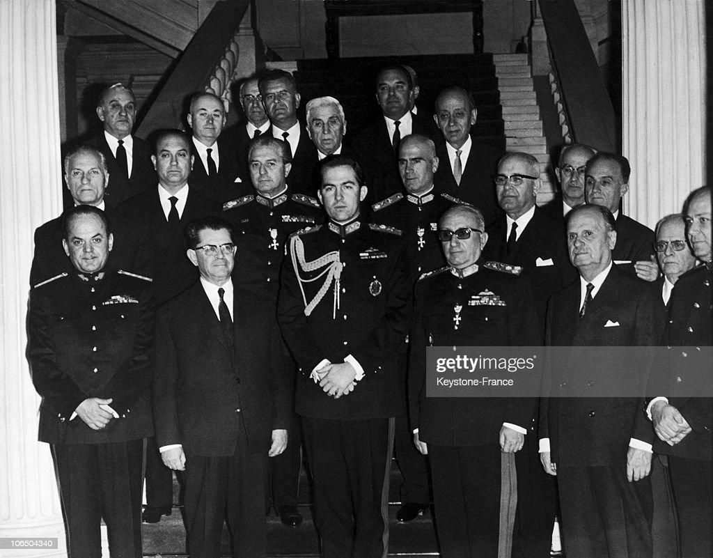 Colonels Dictatorship In Greece 1967 : News Photo