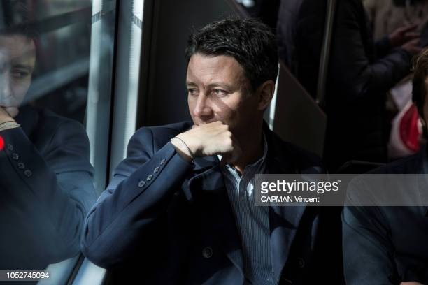 The government spokesman and potential candidate for mayor of Paris in 2020 Benjamin Grivaux is photographed for Paris Match on september 29 2018 in...