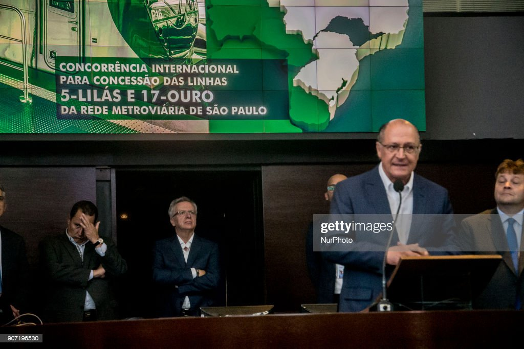 Government of Sao Paulo auctioned off two subway lines in the city