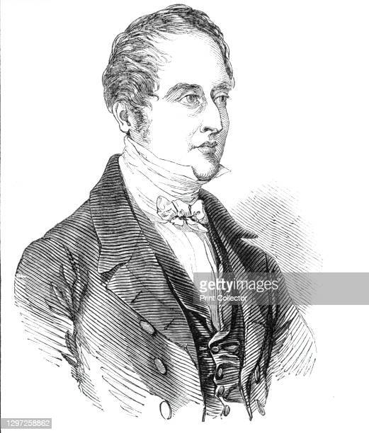 The Governor of the Bank of England, 1844. Portrait of William Cotton, British inventor, merchant, philanthropist, and Governor of the Bank of...