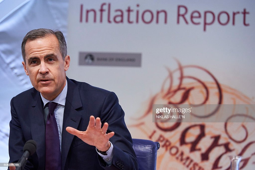 BRITAIN-ECONOMY-BANK-RATE : News Photo