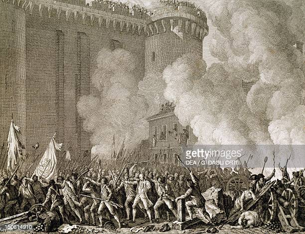 The governor of the Bastille De Launay being arrested July 14 1789 French Revolution France 18th century