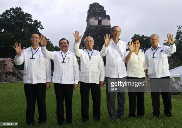 The Governors of the Mexican states of Chiapas and Campeche Juan Sabines and Jorge Hurtado respectively Guatemala's Minister of Foreign Affairs...