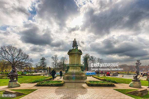 The Gower Memorial in Stratford-upon-Avon, England