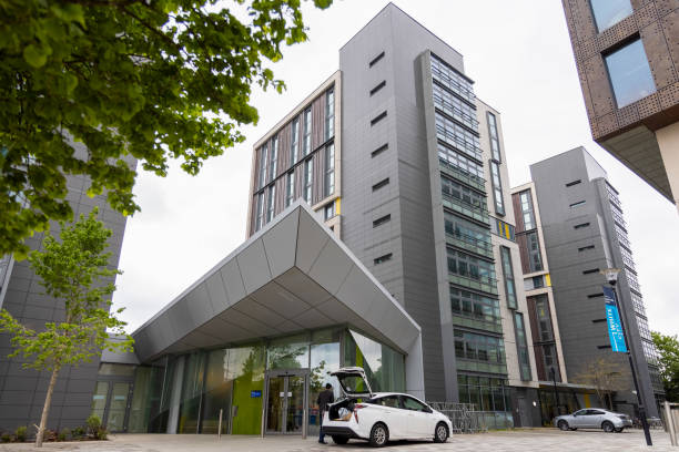 GBR: Student Accommodation Block Used To Register Elonspace Ltd.