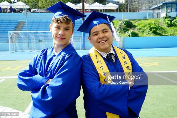 FAMILY 'The Graduates' In the season finale Manny's father Javier shows up for his graduation and takes him out on a wild night of celebration and...
