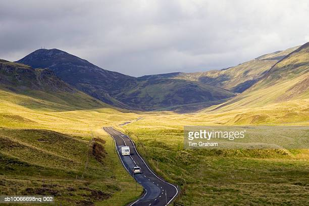 the grampian mountains, scotland - grampian scotland stock pictures, royalty-free photos & images