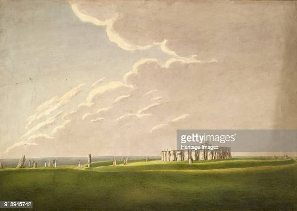 The Grand Antediluvian Temple of Stonehenge in its original state from the North 18241839