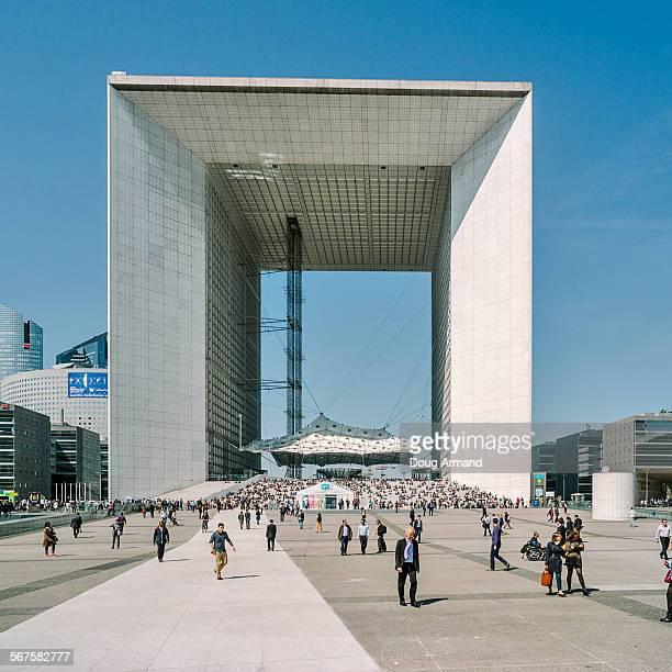 The Grand Arch at La Defense, Paris, France