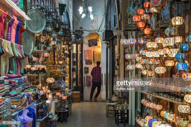 The Grand Bazaar in Fatih District of  Istanbul, Turkey