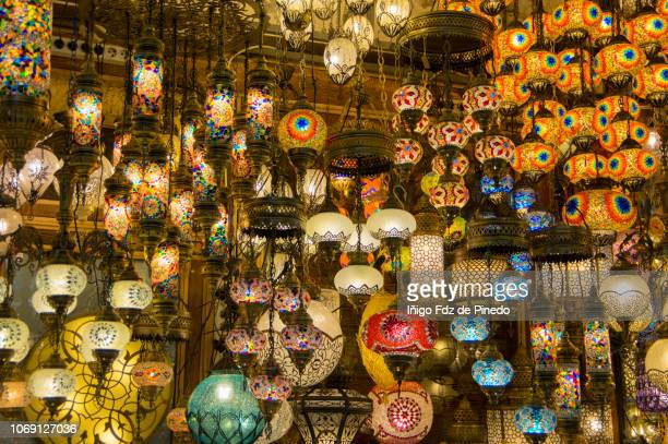 the grand bazaar, istambul, mármara, turkey. - bazaar stockfoto's en -beelden