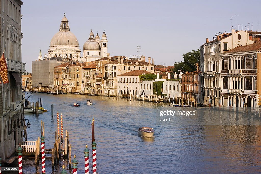 The Grand Canal in Venice, Italy.  2006. : Photo