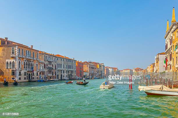 the grand canal in venice - veneto stock pictures, royalty-free photos & images