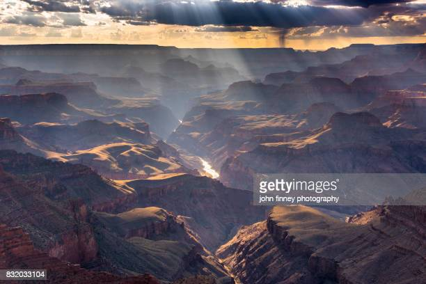 the grand canyon, arizona. - grand canyon village stock photos and pictures
