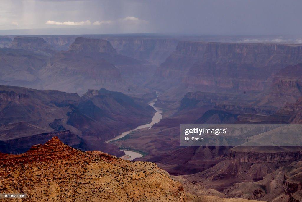 Grand Canyon Desert View Point : News Photo