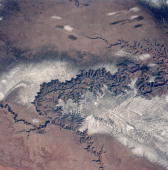 The grand canyon in arizona as seen from the space shuttle discovery picture id79736103?s=170x170