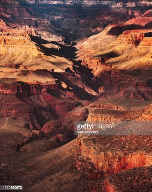 el gran parque nacional del gran cañón - barranco fotografías e imágenes de stock